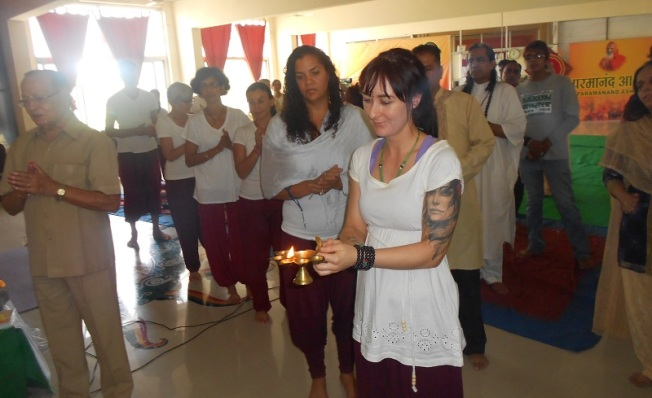 Diwali Celebration in the ashram