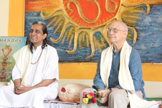 Philip Goldberg in Ashram